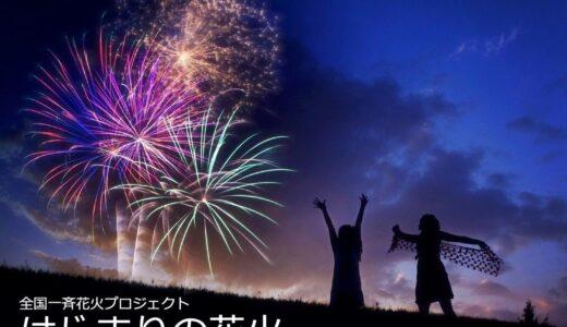 7月事業「笑顔創造プロジェクト~夜空に輝くファイヤーフラワー~」